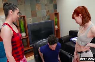 Секс с аппетитными рыжими красавицами 1182