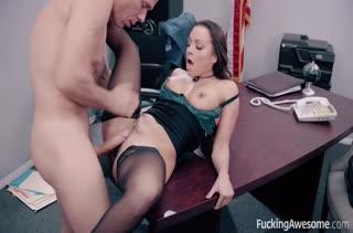 Горячее порно видео с девушками в чулках 1116
